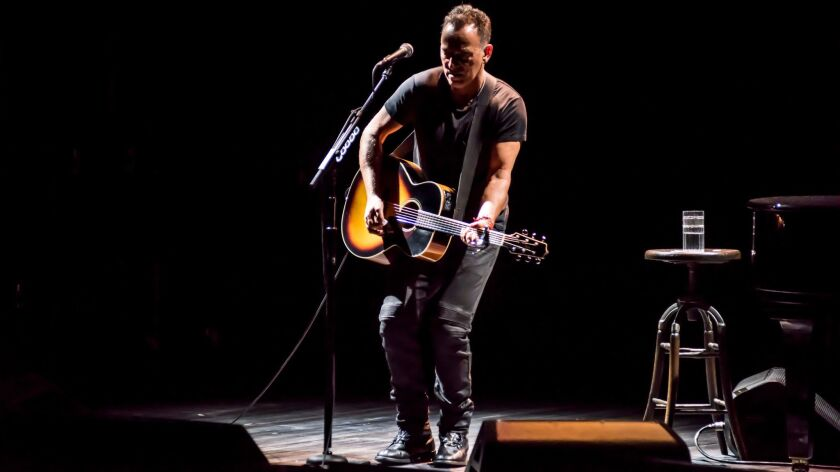 Bruce Springsteen's sold-out run on Broadway is in high demand, but it lacks the communal spirit that the Boss has long celebrated.