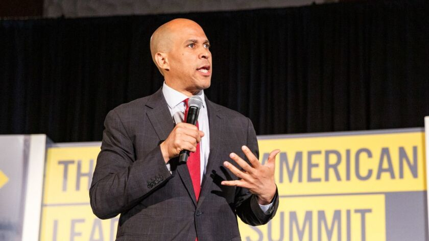 Cory Booker at the African American Leadership Council Summit