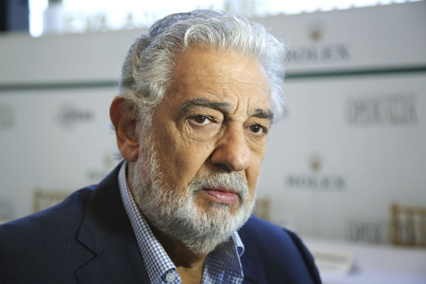 An investigation by L.A. Opera found 10 allegations of improper conduct by Plácido Domingo.