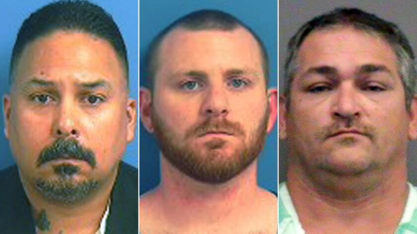 Informant posing as Klan hit man leads to prison guard bust - Los