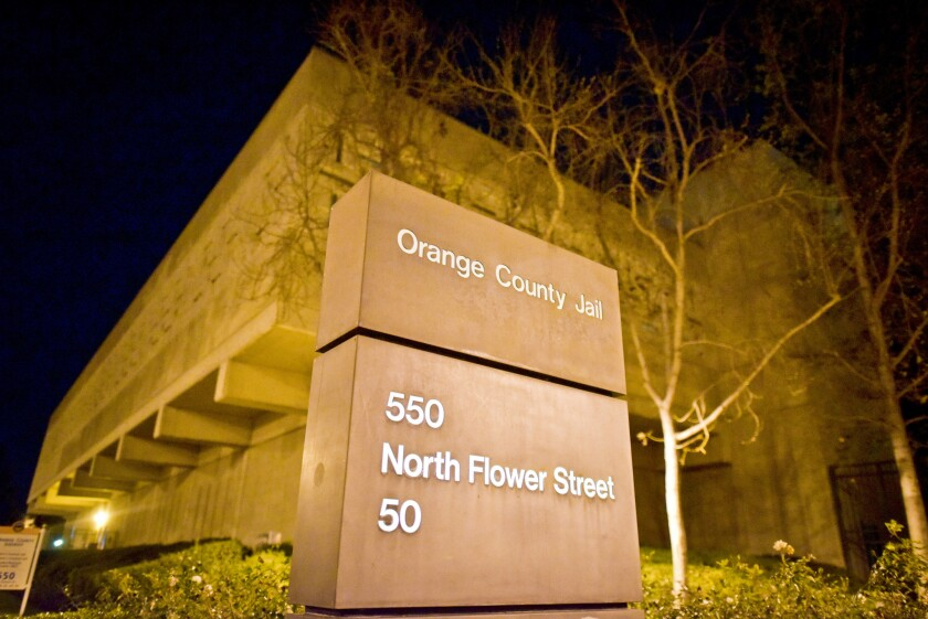 As of Tuesday, Orange County's three jails had a total of 2,911 inmates.