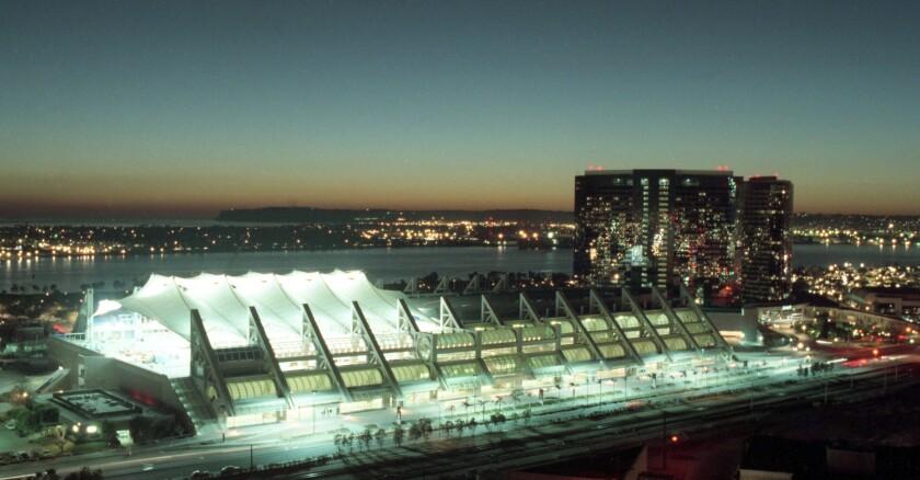 San Diego Convention Center 1989 photo