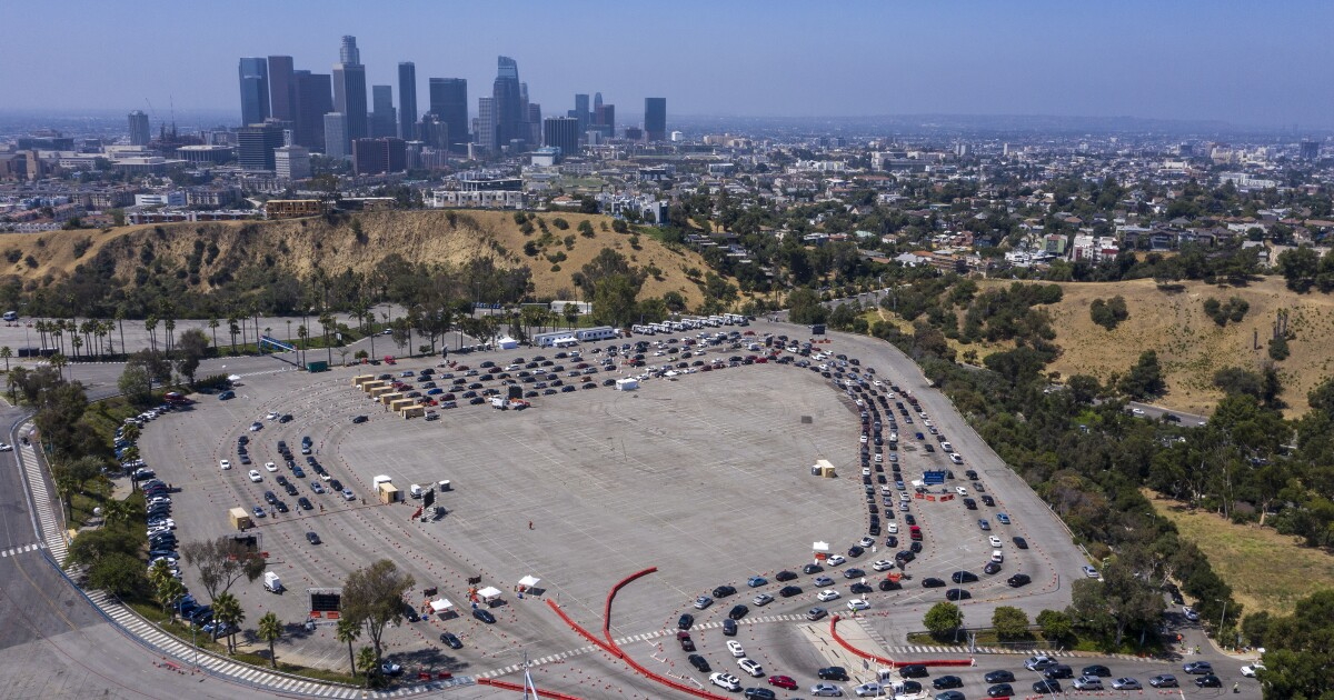 L.A. on verge of shutting down again, Garcetti warns