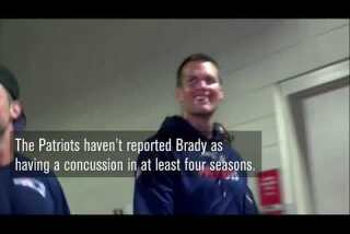 Did Tom Brady fail to report concussions?