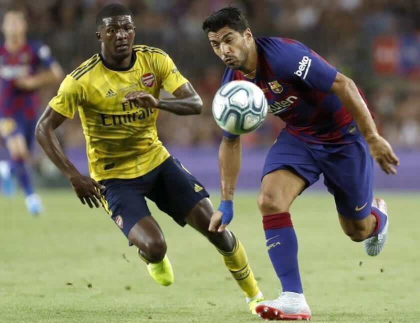 2-1. Luis Suárez le da el Gamper al Barça en el último suspiro