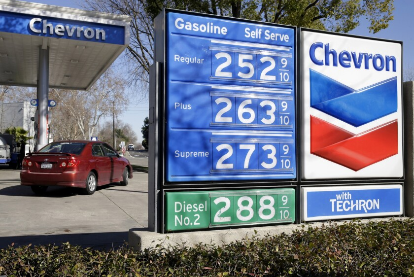 Gas Prices In California >> California Gas Prices Expected To Jump Overnight Possibly