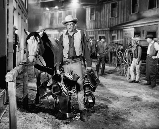 "Arness as Marshal Matt Dillon in ""Gunsmoke."" See obituary"