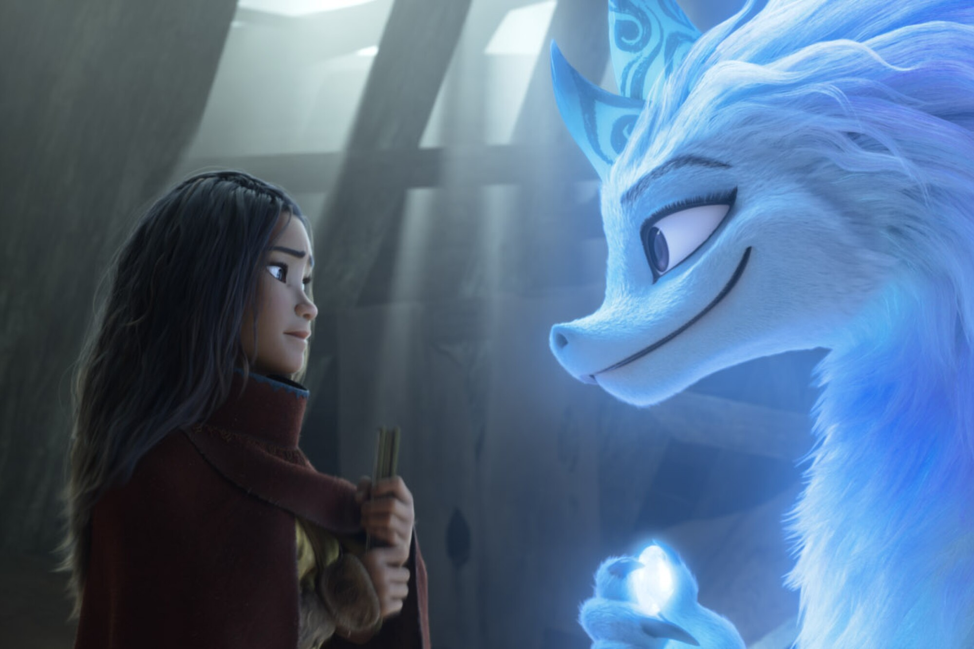 """""""Raya and the Last Dragon"""" stars the voices of Kelly Marie Tran and Awkwafina"""