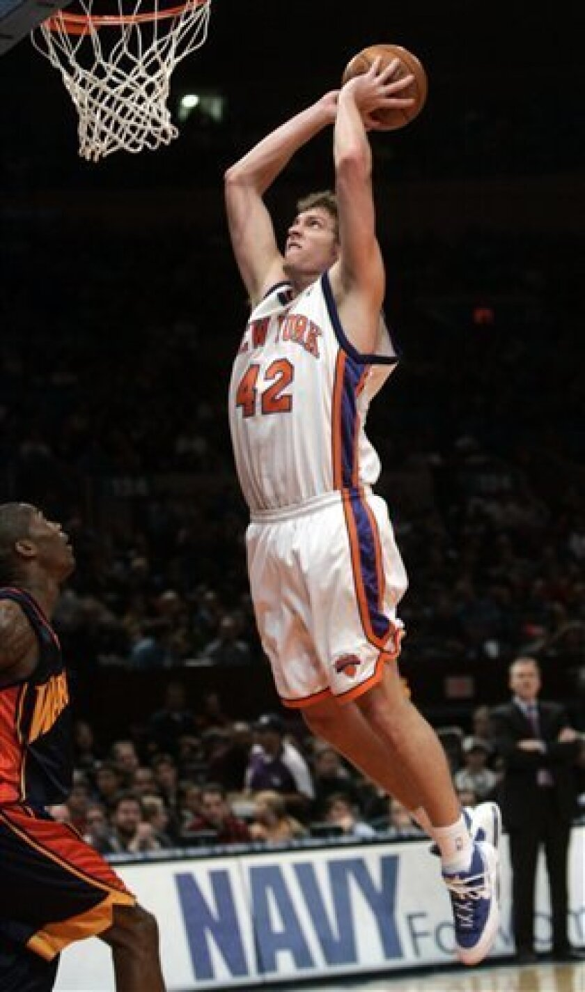 new product 47b43 9f4f4 Knicks set records in 138-125 win over Golden St. - The San ...