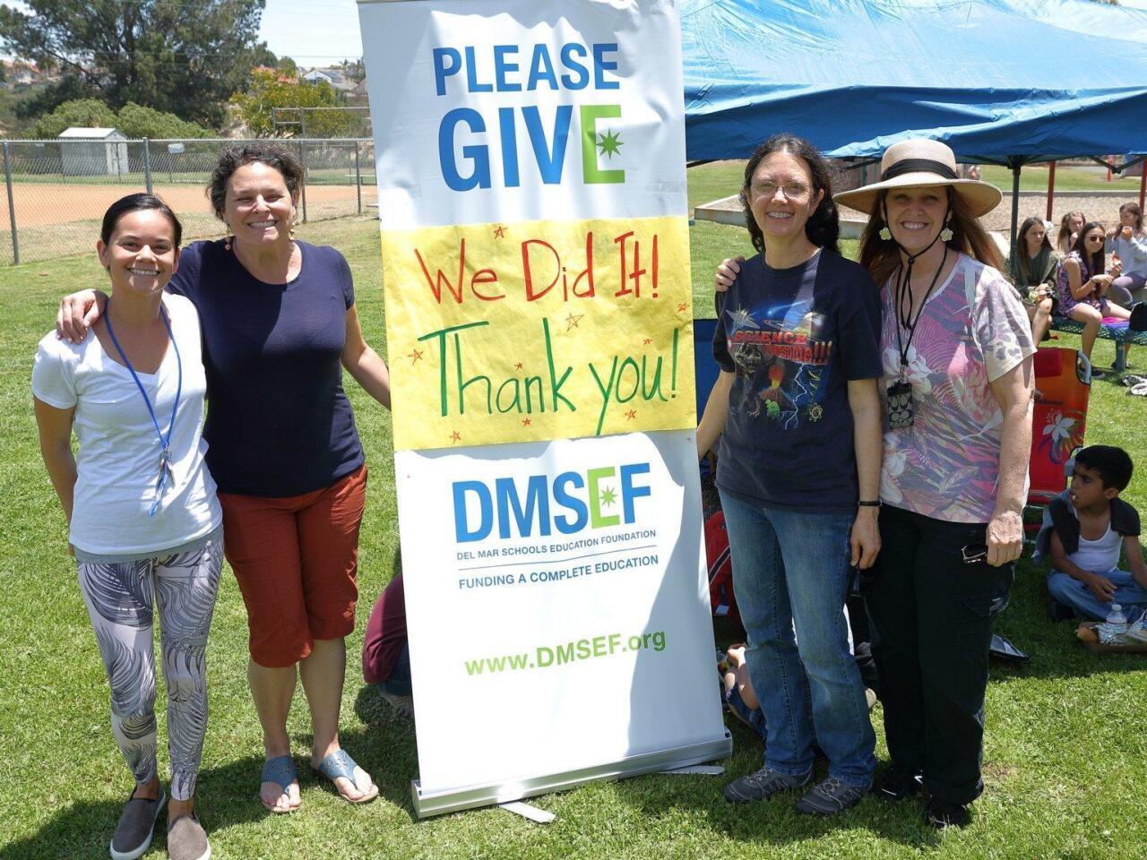 Del Mar Hills Academy STEAM teachers Amy Smith, Stacie Greene, Nancy Swanberg, Jodi Neilson