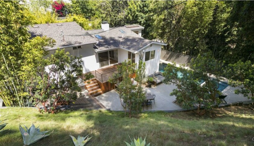 Musician Shannon Leto, of 30 Seconds to Mars, remodeled his split-level home in the Hollywood Hills.