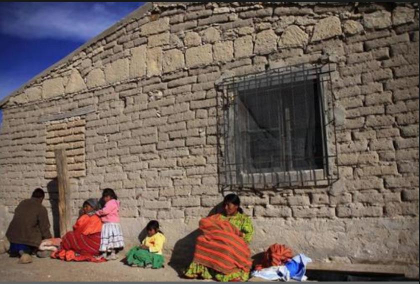 Fotografía de archivo del 14 de mayo de 2018 que muestra a indígenas