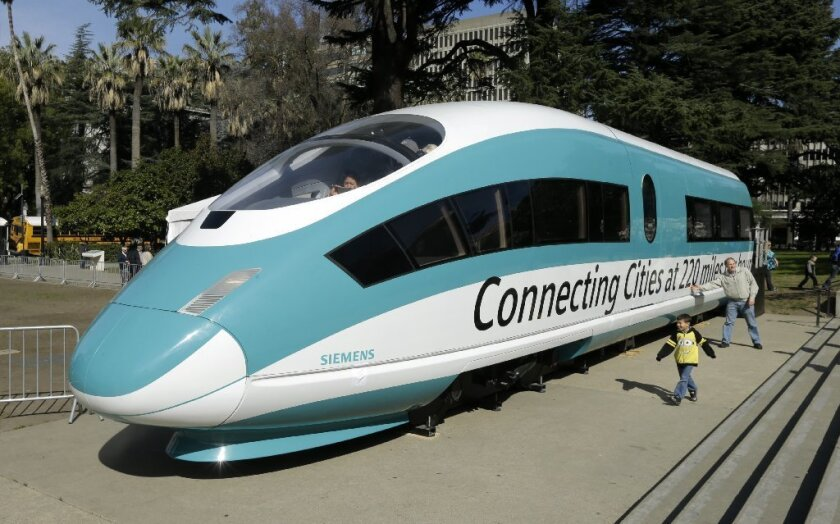 The California High Speed Rail Authority faced backlash after requesting to import parts for rail cars.