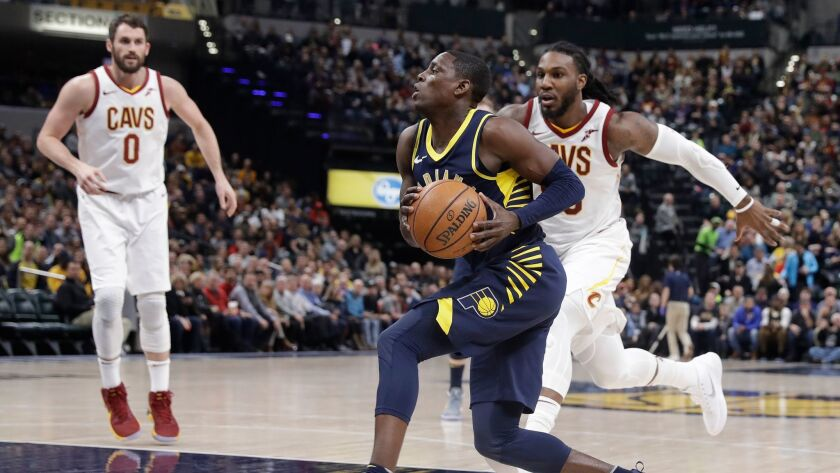 sports shoes 8a532 4ef97 NBA roundup: Pacers come from 22 down to hand Cavaliers ...