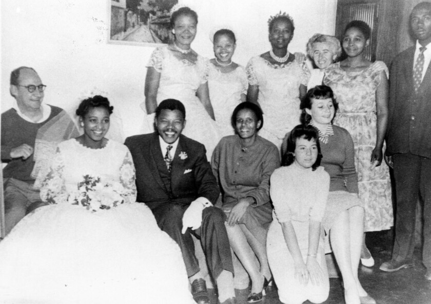 Nelson Mandela's wedding
