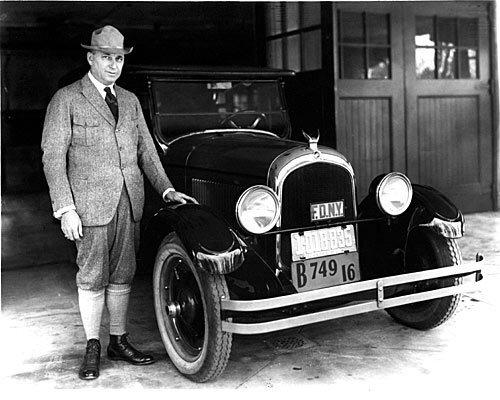 Chrysler with the 1924 Chrysler Six