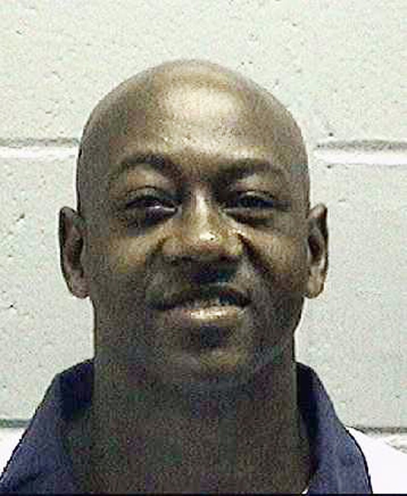 This undated photo made available by the Georgia Department of Corrections shows Timothy Tyrone Foster.