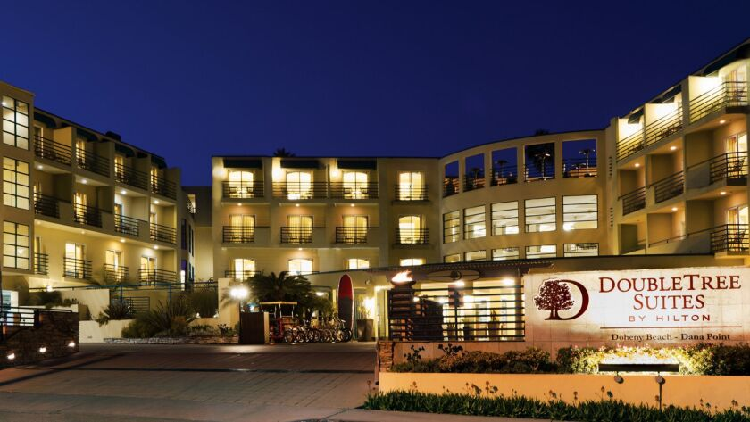 DoubleTree Suites Doheny Beach in Dana Point, California. Credit: Hilton