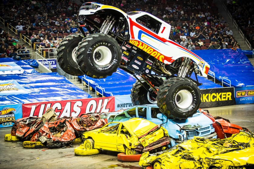 Hot Wheels Monster Truck Live roars into San Diego this weekend.