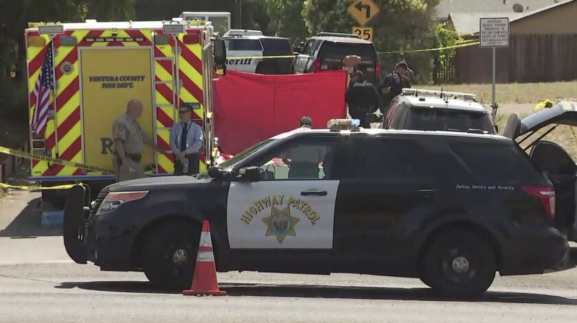 Homeless man shot and killed by CHP officers in Oak View