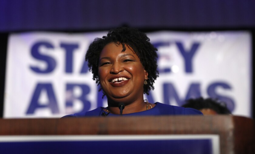 Is Stacey Abrams a hero or a failure? That's just one of the things liberals and conservatives see through different lenses.
