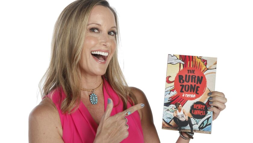 Author Renee Linnell, she had traveled to nearly fifty countries alone before she turned thirty-five. She was a surf model and a professional tango dancer.