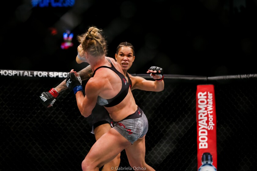 Amanda Nunes vs. Holly Holm