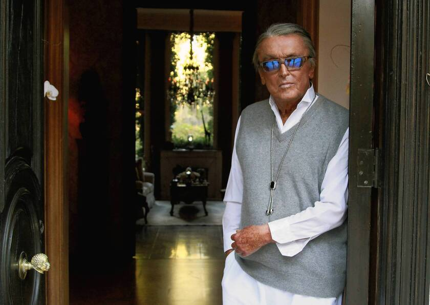 Film producer Robert Evans died on Saturday.