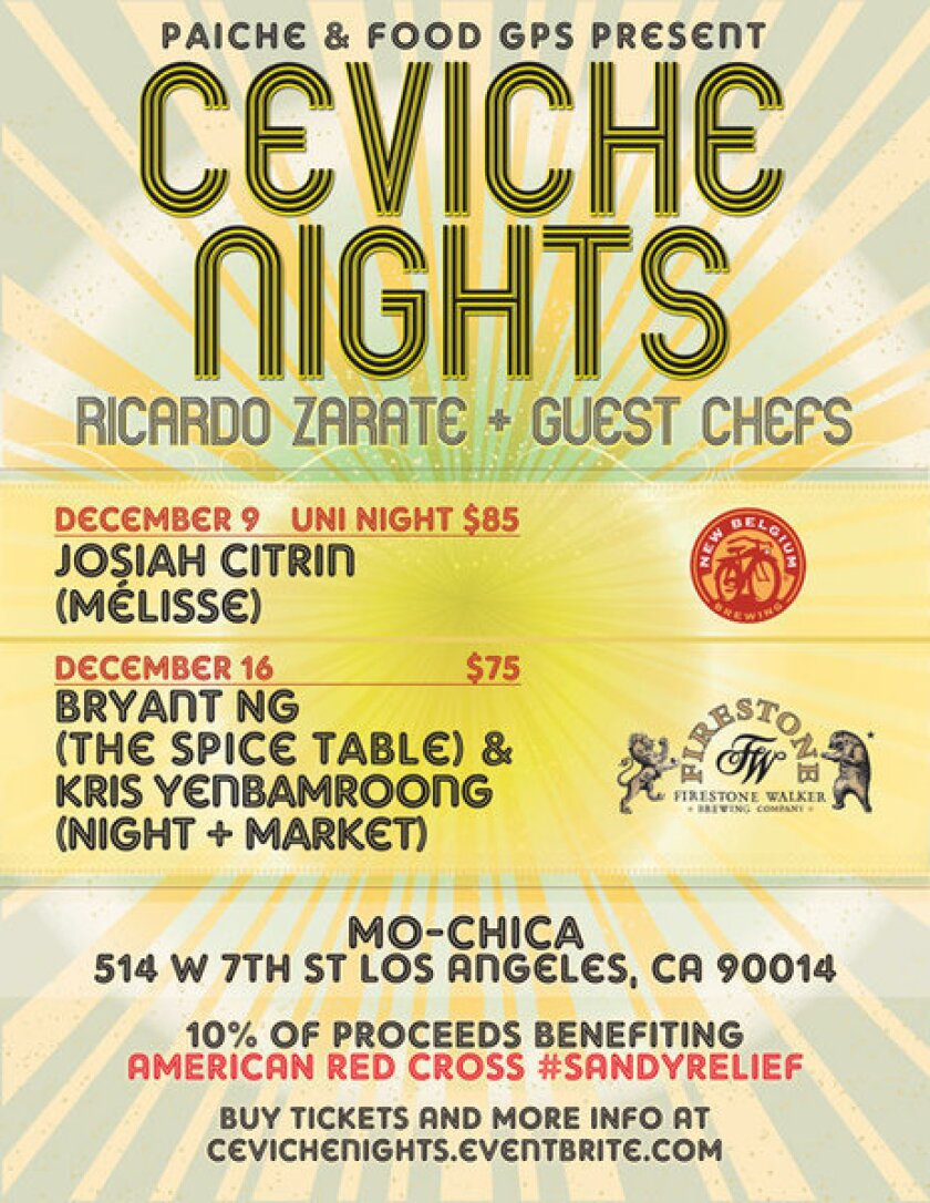 Ceviche Nights at Mo-Chica