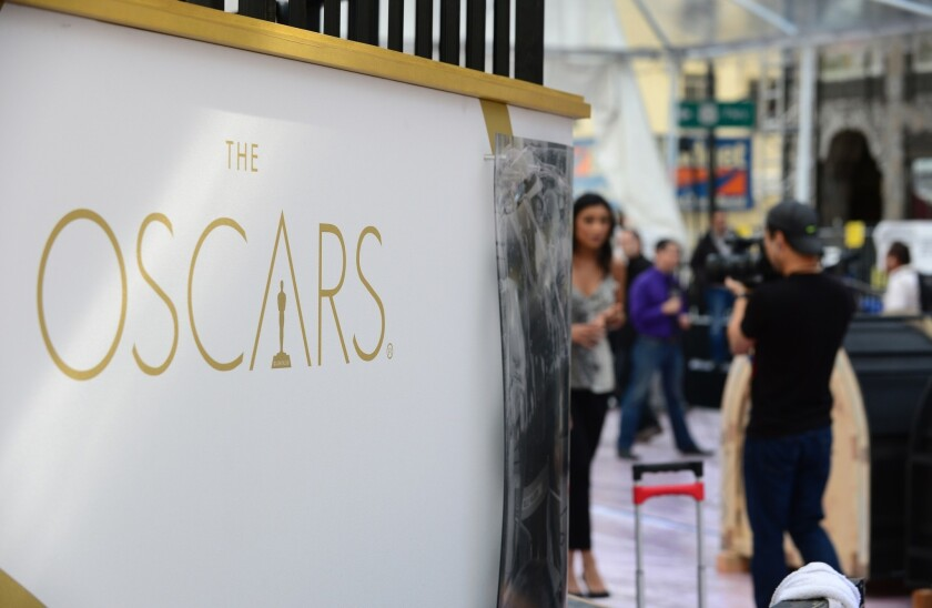 Los Angeles law enforcement monitors ingress and egress points at major events such as the Oscars an