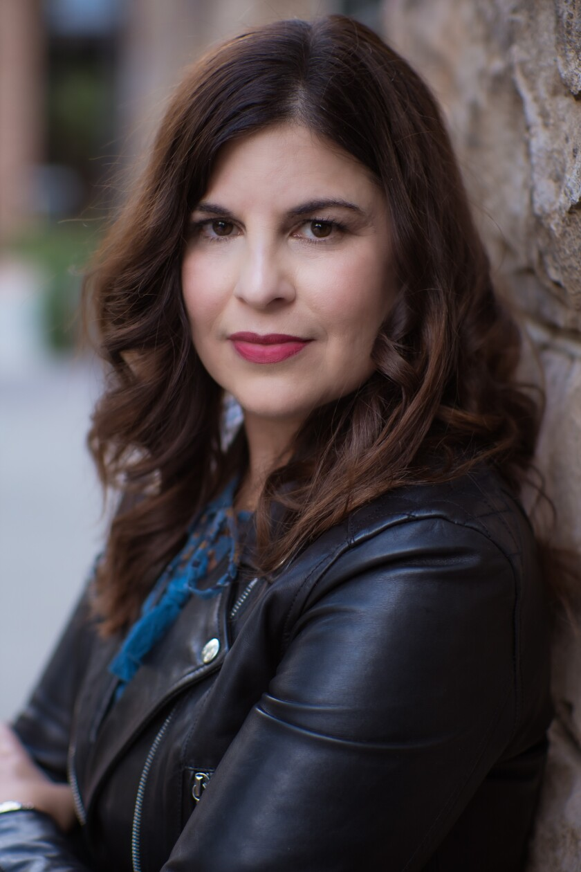 San Diego-based author Laura Taylor Namey