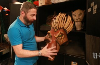 Puppets of the Lion King