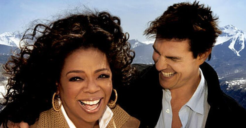 In part one of a two-part interview, Oprah Winfrey visits actor Tom Cruise at Cruise's home in Telluride, Colorado.