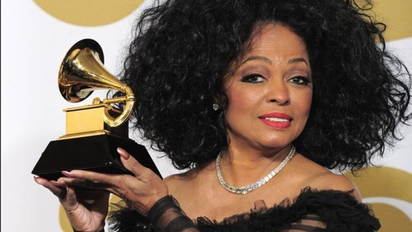 Diana Ross was one of the pop music legends to receive a Lifetime achievement Grammy Award Saturday in Los Angeles at the Special Merit Awards ceremony.