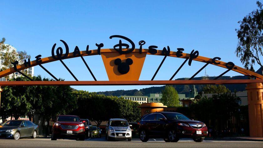 Walt Disney Co.'s headquarters are seen in Burbank.