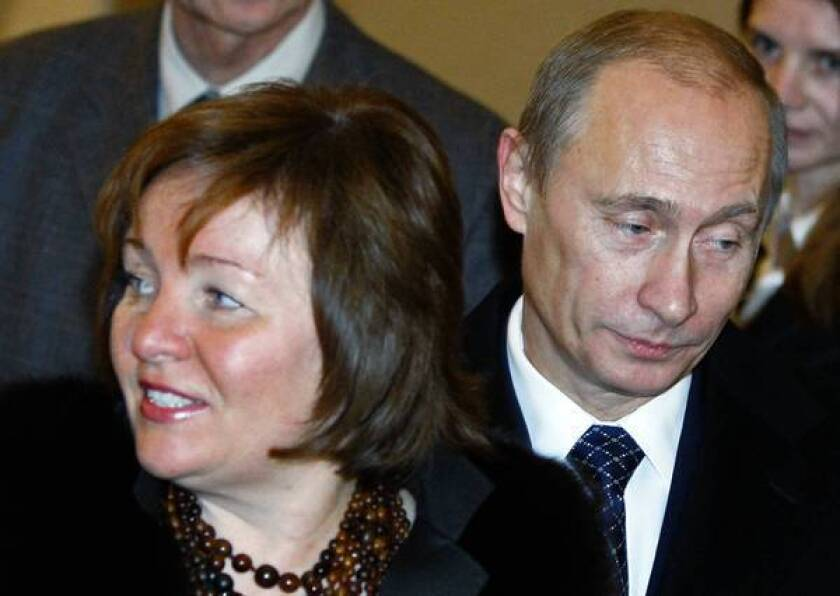 Russia President Vladimir Putin and wife announce divorce ...
