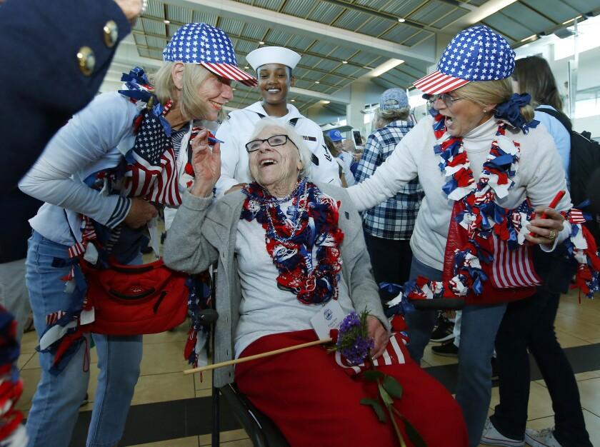 Honor Flight San Diego