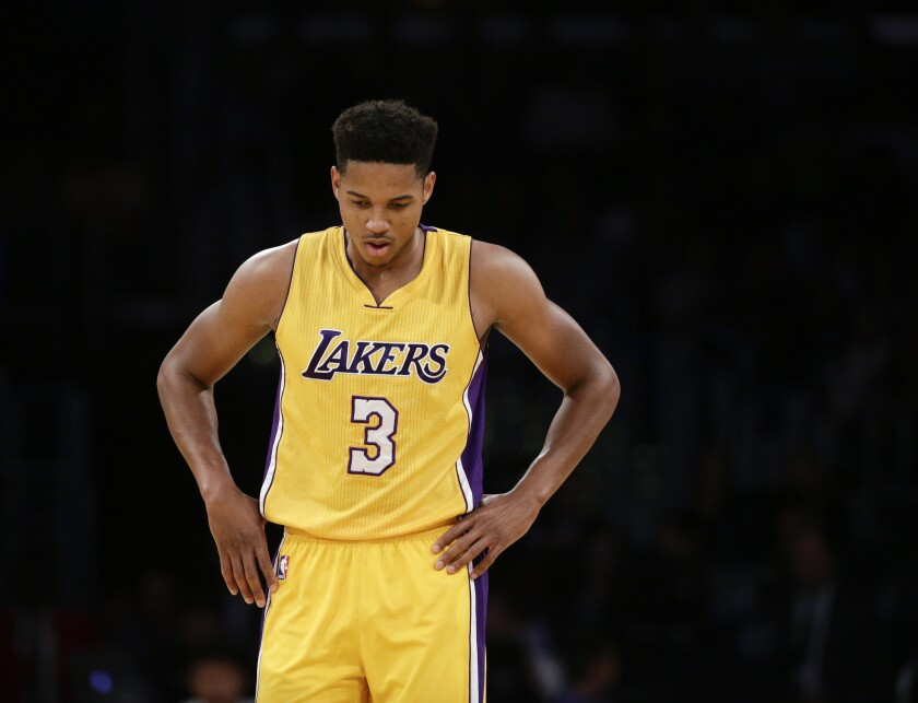Lakers assign rookie guard/forward Anthony Brown to D-Fenders