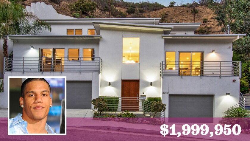 Former USC Trojans standout Taylor Mays has put his home in the Runyon Canyon area of Hollywood Hills West on the market for about $2 million.
