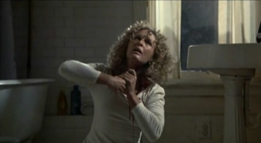 """Glenn Close in a scene from the original ending of """"Fatal Attraction."""""""