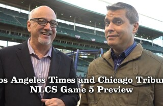 Dodgers vs. Cubs, Game 5: Bill Plaschke and David Haugh on if this is the end of the Cubs