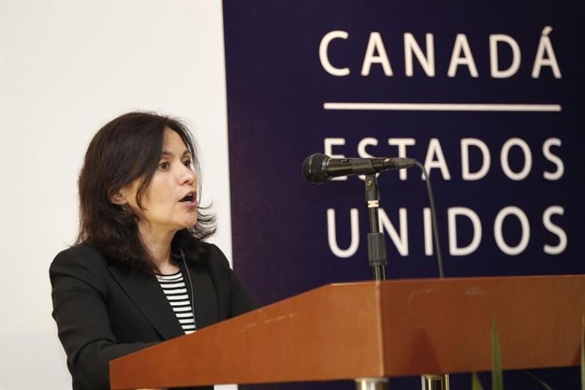 La presidenta de la Comisión Federal de Comercio (FTC, en inglés), Edith Ramírez, de origen mexicano, anunció hoy que dimitirá como jefa del organismo de vigilancia del consumidor más poderoso del país. EFE/ARCHIVO