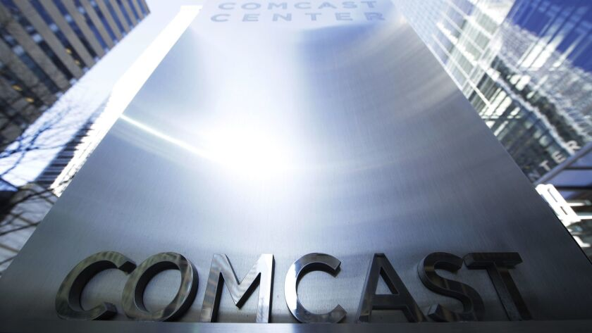 Shares of Comcast Corp., based in Philadelphia, tumbled nearly 6% Monday — as investors reacted by concluding that Comcast dramatically overpaid for London-based Sky TV.