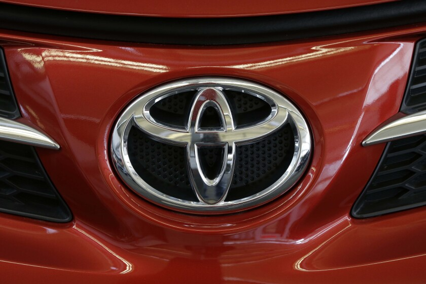 A Toyota logo