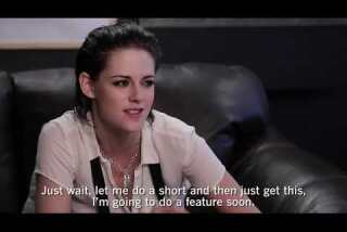 Kristen Stewart on directing 'Come Swim'