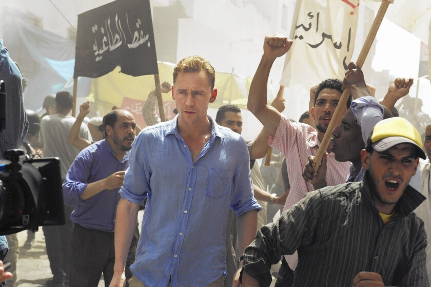 Tom Hiddleston in 'The Night Manager'