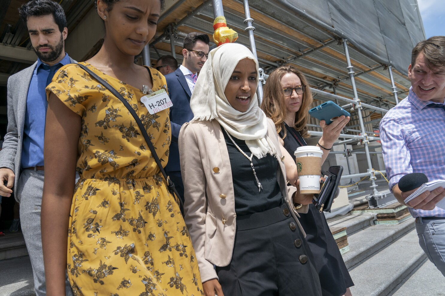Q&A: Rep. Ilhan Omar is in Trump's crosshairs. What's going on?