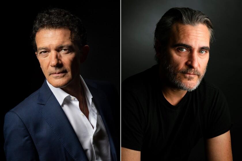 Antonio Banderas and Joaquin Phoenix