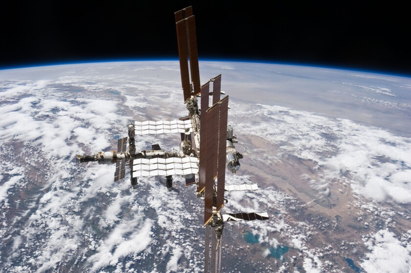 The International Space Station experienced a failure in one of its two ammonia cooling loops, NASA officials said Wednesday.