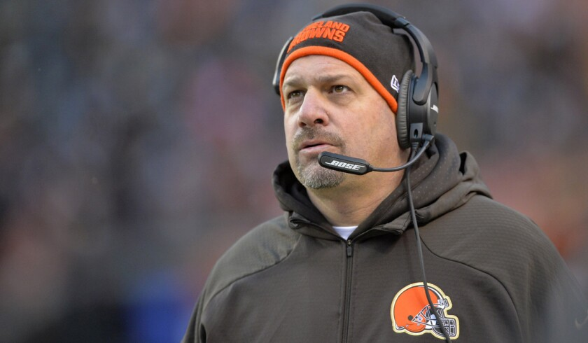 Browns fire coach Mike Pettine and GM Ray Farmer hours after completing a 3-13 season